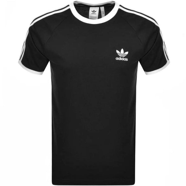 Adidas Originals Black 3 Stripes T-Shirt