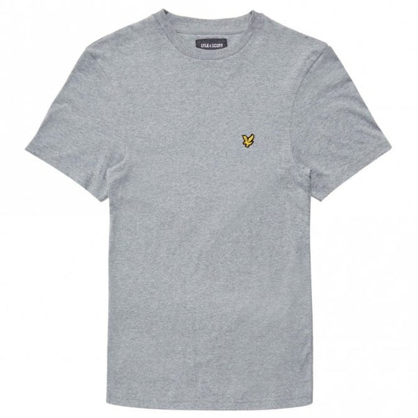 Lyle and Scott Grey Short Sleeve Crew Neck T-Shirt