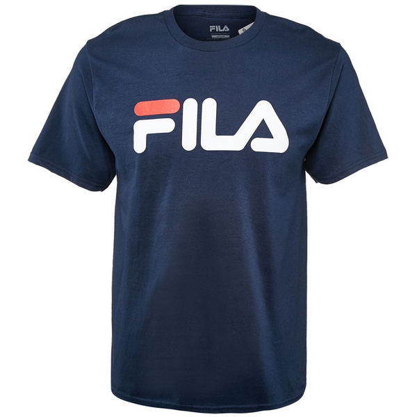 FILA Navy with White Big Logo T-Shirt