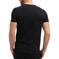 Tommy Hilfiger Black Small Logo Short Sleeve Crew Neck T-Shirt