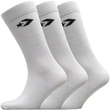 Converse 3 Pack of White Socks With Logo on Top and Bottom