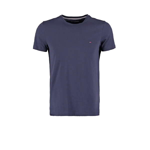 Tommy Hilfiger Navy Small Logo Short Sleeve Crew Neck T-Shirt