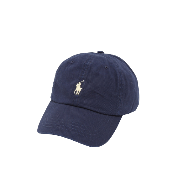 Ralph Lauren Navy and White Pony Baseball Cap
