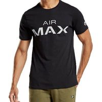 Nike Air Max Black Tee with White Logo
