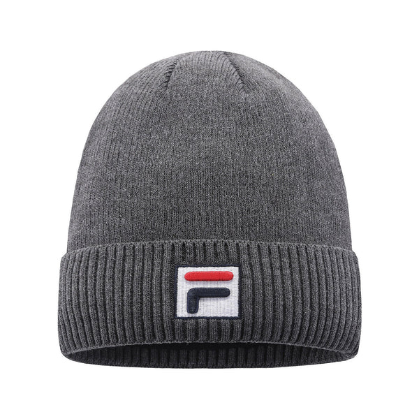 Winter FILA Beanie Warm For Men Women Thick Cap Cuffed Knit Stretch Hat UK4