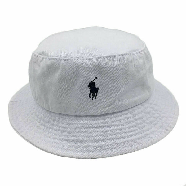 POLO RALPH LAUREN CAP / BUCKET HAT BNWOT ONE SIZE 59CM 100% COTTONTWILL RRP £40