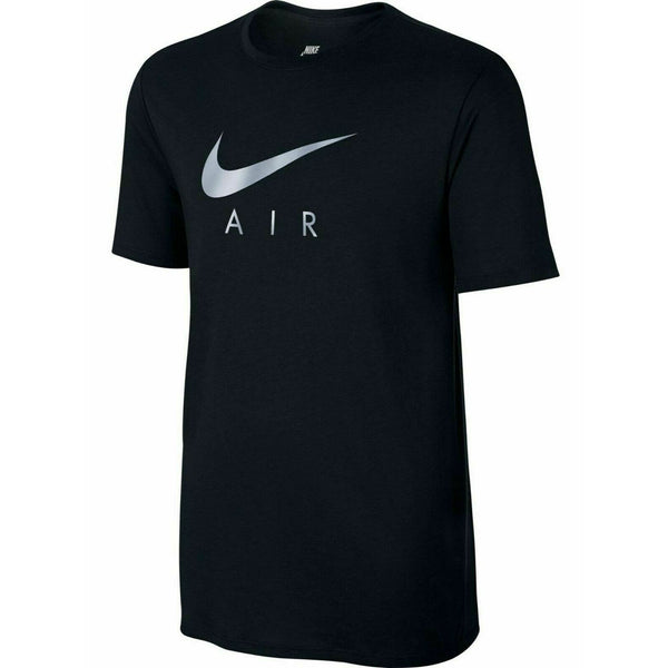 Nike Mens T Shirt Tri-Blend Hybrid Air Logo Cotton Tee Short Sleeve Top S M L XL