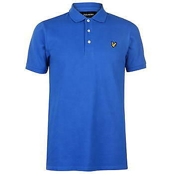 Lyle and Scott Mens Polo Shirt Short Sleeve Size S M L XL 2XL Regular Fit