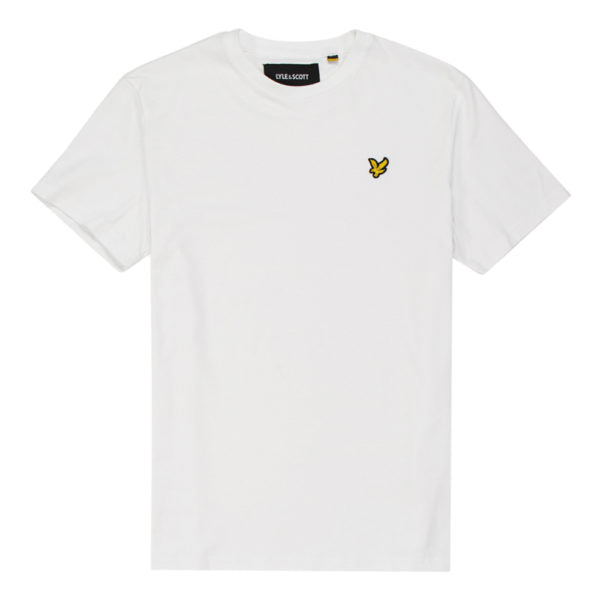 Lyle and Scott White Short Sleeve Crew Neck T-Shirt