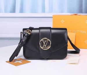 louis vuitton Fashion Leather Small V Style Luxury Handbags