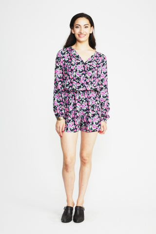 The Rebel Floral Romper