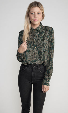 THE CAROLINE PAISLEY TOP