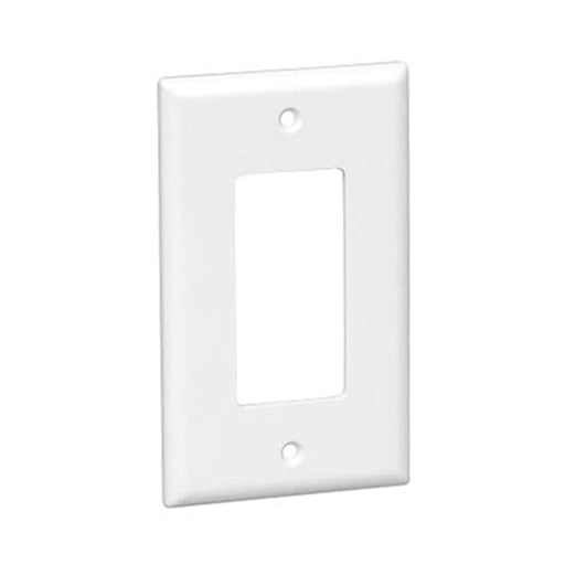 Wallplate | Decora Wall Plate | 1 Gang | White - Conversions Technology