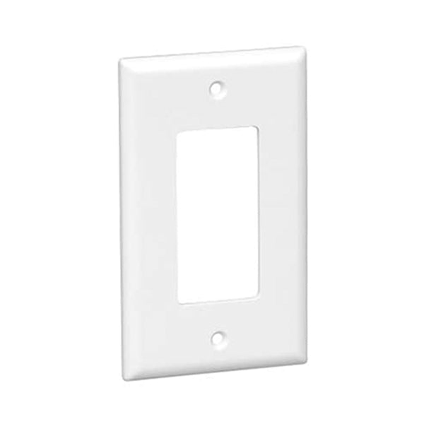 Okta®  |  Decora Wall Plate  |  1 Gang,  White - Conversions Technology