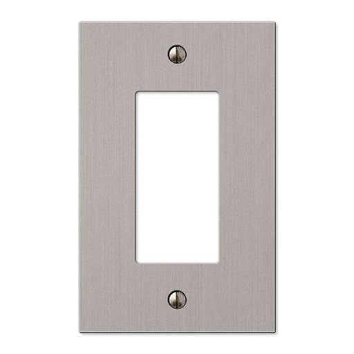 Okta® | Decora Wall Plate | 1 Gang, Nickel - Conversions Technology