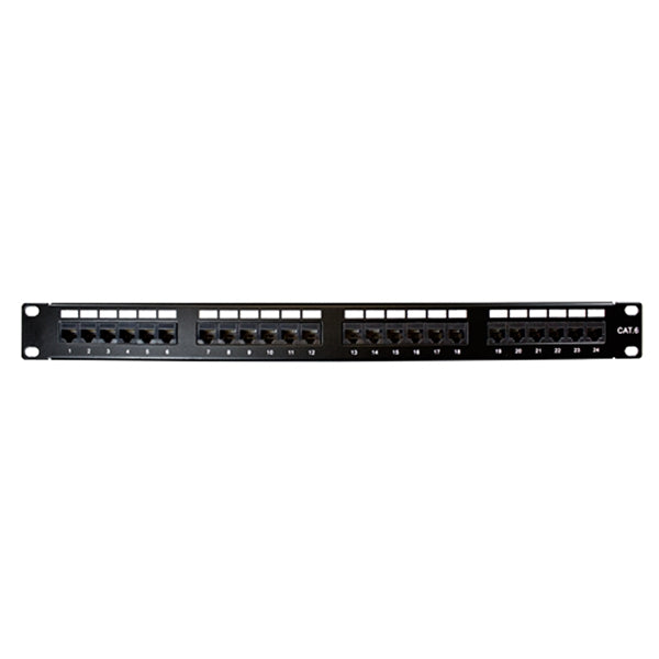 Okta® | Patch Panel | Loaded, Cat6 Dual IDC, 24-Port - Conversions Technology
