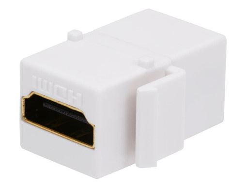 Keystone Insert | HDMI | Coupler Jack, White - Conversions Technology