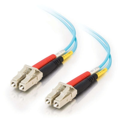 Zeta®  |  Fiber Optic Cable,  LC - LC  Duplex  10 Gig  50/125  Multimode,  3M - Conversions Technology