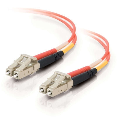 Zeta® | Fiber Optic Cable, LC - LC Duplex 50/125 Multimode, 1M - Conversions Technology