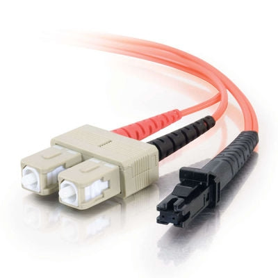 Fiber Optic Cable, MTRJ - SC Duplex 50/125 Multimode, 10M - Conversions Technology