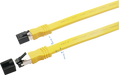 Sigma Wire & Cable | Patch Cord | Cat8, S/FTP Stranded Bare Copper, Flat 4ft - Conversions Technology
