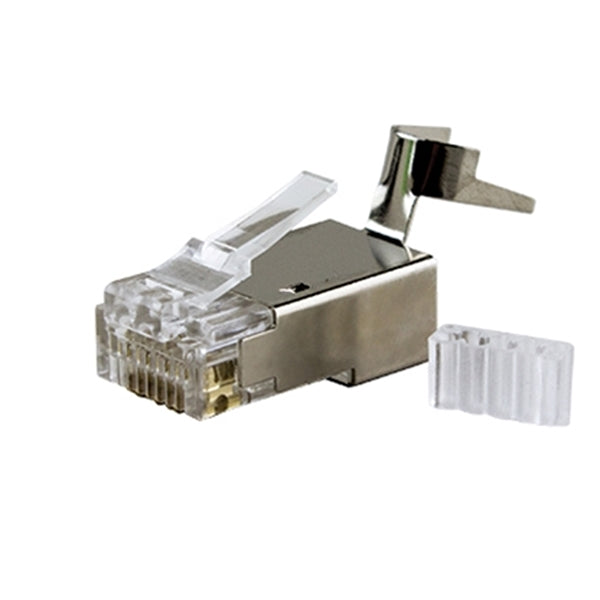 Connector | RJ45, CAT6A/7 8P8C Modular Plug, Shielded (50 pcs) - Conversions Technology