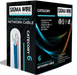 Sigma Wire & Cable | Cat6 CMP 1000ft, | WHITE | Solid Bare Copper | Plenum | 23 Awg UTP Ethernet Cable - Conversions Technology