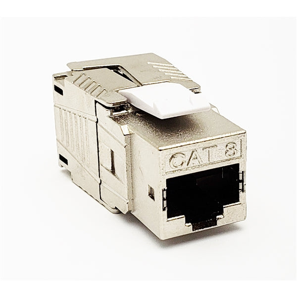 Connector RJ45 | Cat8 8P8C Modular, Field Terminable Plug, Shielded, Snap-In Boot - Conversions Technology