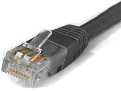 Sigma Wire & Cable | Patch Cord | Cat5e, Black 150ft - Conversions Technology