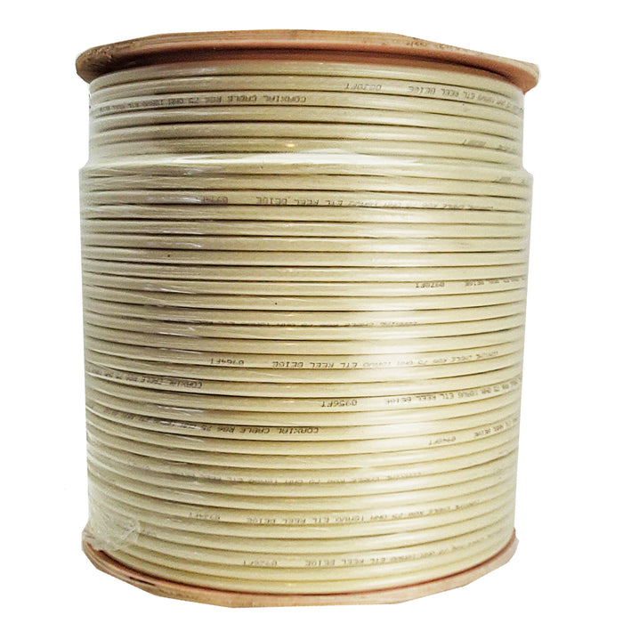 Coax Cable | Bulk RG6 |Coax Cable | Reel | Beige - Conversions Technology