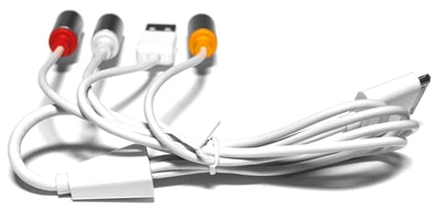 Omicron® | Specialty Cables | Apple Dock Connector to Composite AV Cable with USB - Conversions Technology