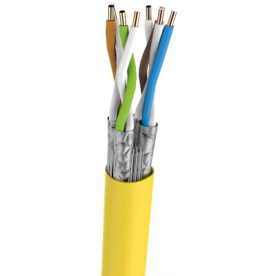 Category 7 Cable | cat7 ethernet cable 250 ft yellow - Conversions Technology