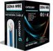 Sigma Wire & Cable | Cat6 Stranded CMR 1000ft, Box | BLACK| Bare Copper | Riser | 23 Awg UTP Ethernet Cable - Conversions Technology