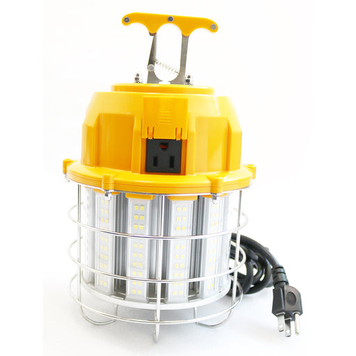 LED | High Bay Temporary LED Work Light, Linkable, 60 Watt, 7,200 Lumens, 5000K Daylight - Conversions Technology