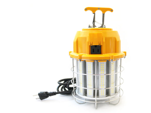 LED | High Bay Temporary LED Work Light, Linkable, 100 Watt 12,000 Lumens 5000K Daylight - Conversions Technology