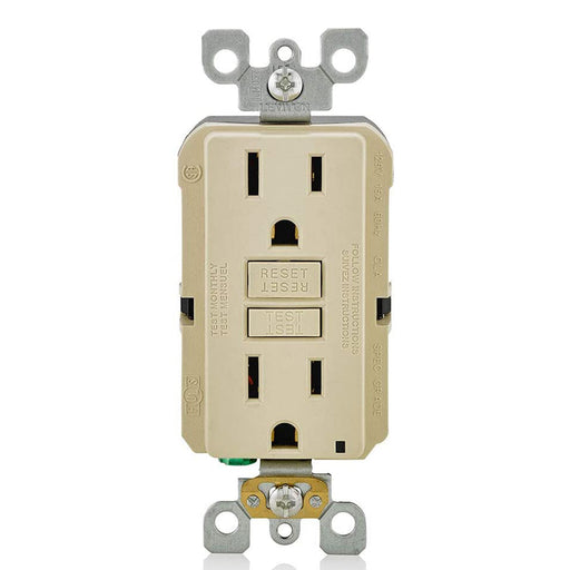AC Outlet | 15 Amp GFCI Decorator Residential-Commercial (Almond) - Conversions Technology