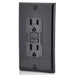 AC Outlet | 15 Amp GFCI Decorator Residential-Commercial (Black) - Conversions Technology