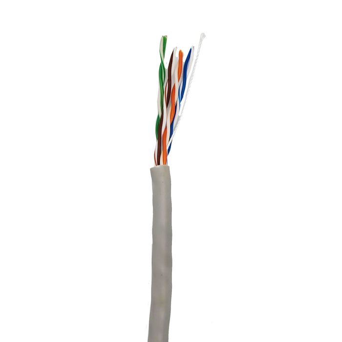 Cat5e Solid PVC 1000ft | Beige | Bare Copper | Ethernet Cable - Conversions Technology