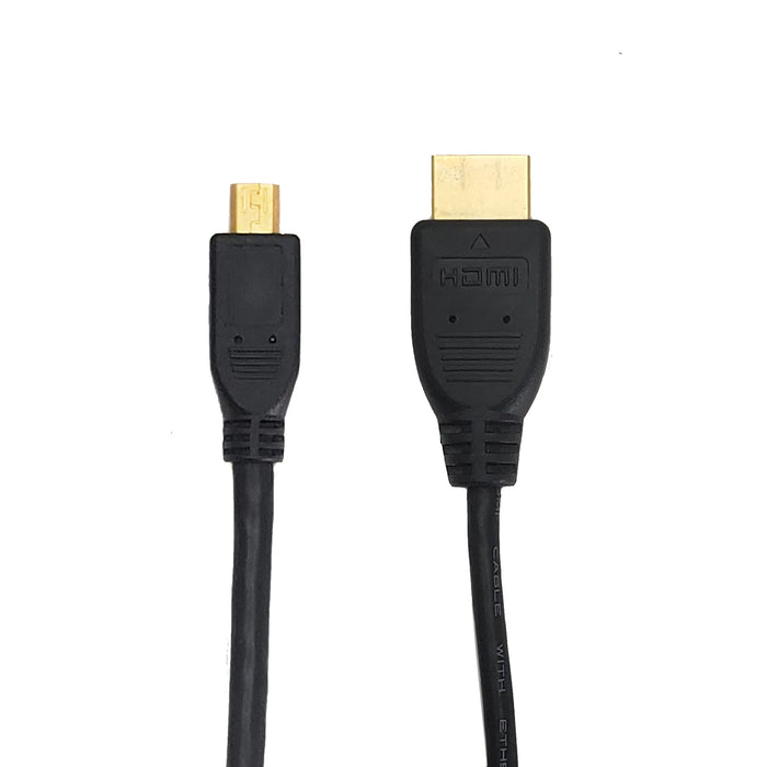 HDMI Cable | Micro HDMI Cable to HDMI Male | 6ft - Conversions Technology