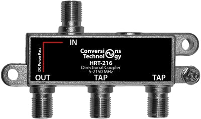 Two port 16 dB DBS coupler - Conversions Technology