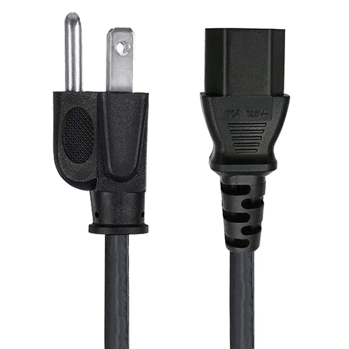 Theta® | Power Cord, IEC-320-C14 to IEC-320-C13 18AWG, 12ft - Conversions Technology