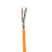 Cat6 Solid PVC 1000ft Box | Orange | Bare Copper | Ethernet Cable - Conversions Technology