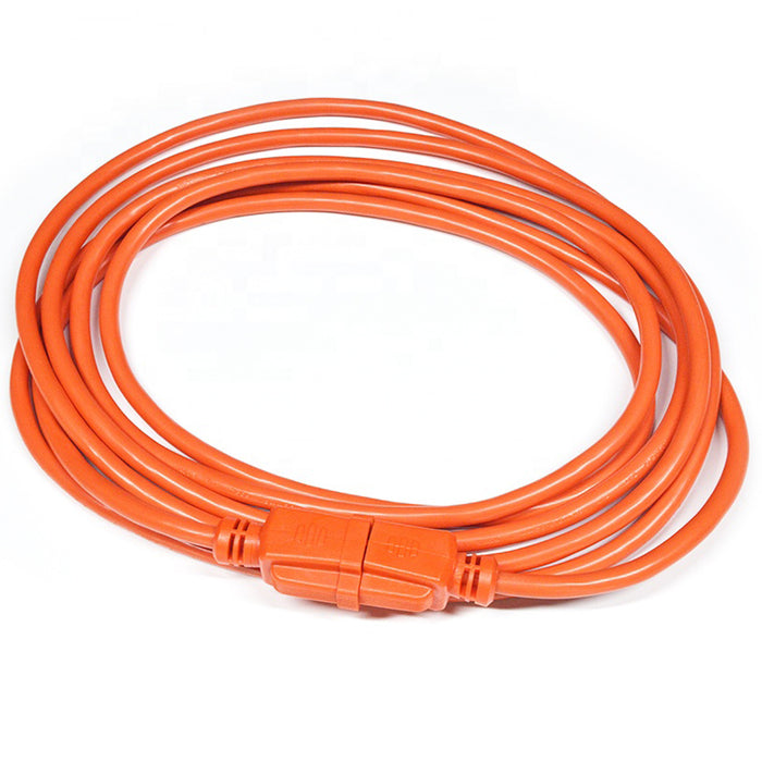 Extension Cord | 25 ft 3-wire extension cord 16/3 orange indoor outdoor - Conversions Technology