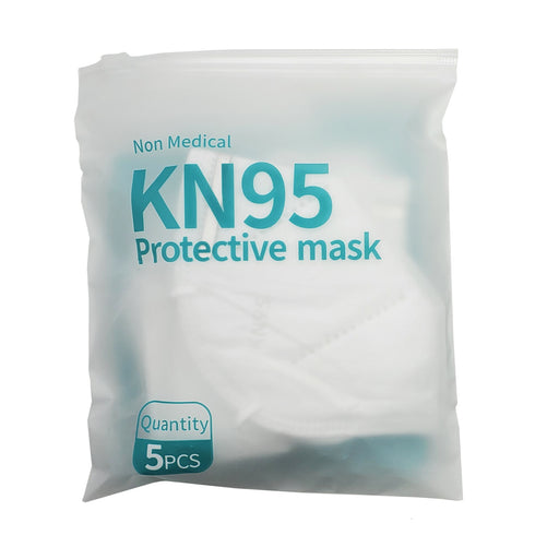 PPE | MASK | Personal Particulate Filtering Facepiece Respirator | FDA / CE Certified, Non-Surgical, KN95 (Pack of 5) - Conversions Technology