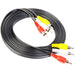 Audio Video Cables | RCA Composite Cable Yellow/White/red | 75ft - Conversions Technology