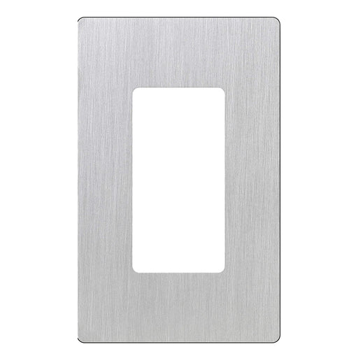 Screw less Face | Decorator Wall Plate | 1 Gang | Stainless Steal - Conversions Technology