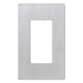Okta Decora Wall Plate | No-Screw Face Plate, 1 Gang, Stainless Steel Finish - Conversions Technology