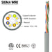 Sigma Wire & Cable | Cat5e Bulk Ethernet; [Customize jacket rating, color & packaging] - Conversions Technology