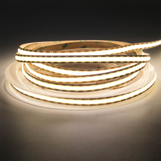 DOTLESS LED Ribbon Light | 528LED/m, Natural White, 8mm, 12V - Conversions Technology
