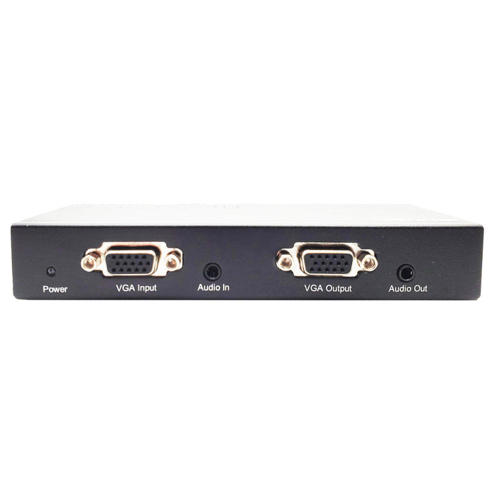 Epsilon® | Audio Video Splitter/Extender | VGA 4 way splitter Extender 900 feet over cat5 over Cat5e 900 Feet - Conversions Technology
